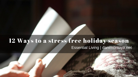 12 ways to a stress free holiday season